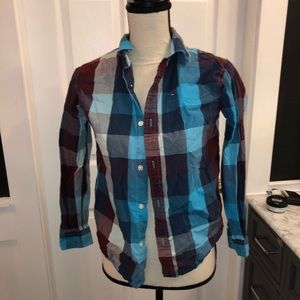 Tommy Hilfiger Boys Long Sleeve top L 12/14